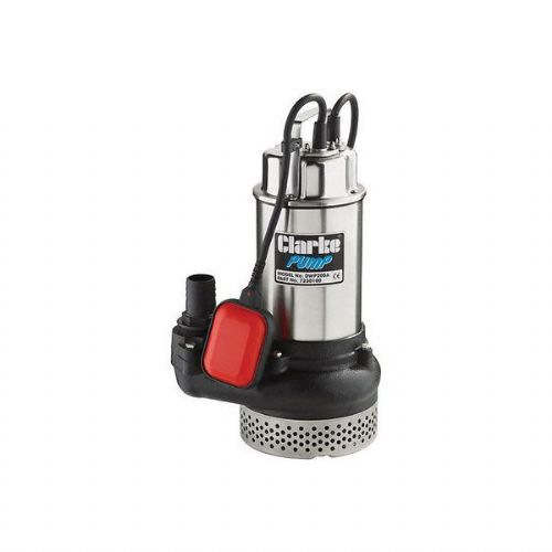 "Clarke DWP100A 1"" Submersible Dirty Water Pump With Float Switch 200 Litres/Min 240V~50Hz"